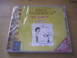Kinney, Jeff.  Gregs Tagebuch 4. Ich war`s nicht! Audio-CD. Hörbuch.