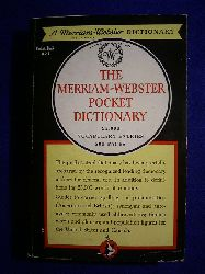 The Merriam - Webster Pocket Dictionary. 25,000 Vocabulary Entries, 500 Pages.