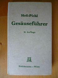 Heß, Heinrich und Eduard Pichl.  Gesäuseführer. Gesäuse und Ennstaler Berge.