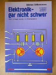 Schommers, Adrian.  Elektronik - gar nicht schwer. Buch 2. Experimente mit Wechselstrom.