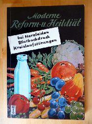 Hube, Isolde und Fritz Hube.  Moderne Reform- und Heildiät bei Herzleiden, Bluthochdruck und Kreislaufstörungen. Die Falken-Bücherei. Band 79.