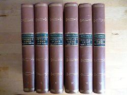 Shakespeare, William.  Shakespeares Werke. Englisch und Deutsch. Band I - VI. Shakespeare`s Works. English and German. Volume I - VI.