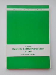Kraft, H. D.  Deutsche Luftfahrtabzeichen bis 1945.
