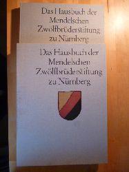 Treue, Wilhelm, Karlheinz Goldmann Rudolf Kellerman (Hrsg.) u. a.  Das Hausbuch der Mendelschen Zwölfbrüderstiftung zu Nürnberg. Deutsche Handwerkerbilder des 15. und 16. Jahrhunderts. 2 Bände (Text- und Bildband).