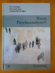 Springer, Anne, Bernhard Janta und Karsten Münch (Herausgeber).  Nutzt Psychoanalyse?! Bibliothek der Psychoanalyse.
