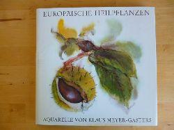 Meyer-Gasters, Klaus.  Europäische Heilpflanzen.