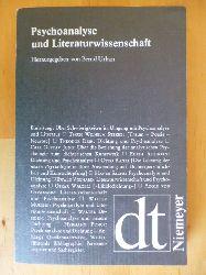 Urban, Bernd (Herausgeber).  Psychoanalyse und Literaturwissenschaft. Texte zur Geschichte ihrer Beziehungen. Deutsche Texte, 24.