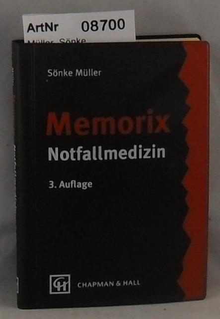 Müller, Sönke  Memorix - Notfallmedizin