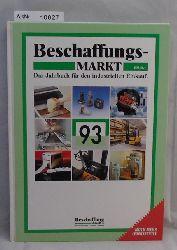 Eisenmann, Horst  Beschaffungs-MARKT 1993 - Das Jahrbuch für den industriellen Einkauf