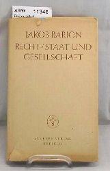 Barion, Jakob  Recht / Staat und Gesellschaft