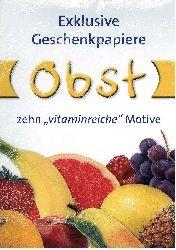 Krone, Dieter [Ill.]: Geschenkpapier Obst. Foto(s) von Dieter Krone