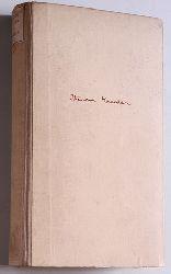 Haecker, Theodor.  Opuscula. Ein Sammelband Hegner Bücherei.