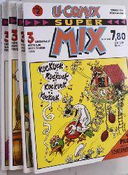 U-Comix Super Mix Band 2 - 5. 4 Bücher. 4x3 Ausgewählte Hefte.