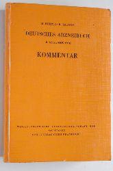 Böhme, Horst und Klaus Hartke.  Deutsches Arzneibuch. 8. Ausg. 1978 ; Kommentar. von H. Böhme u. K. Hartke. Unter Mitarb. von M. Arens ...