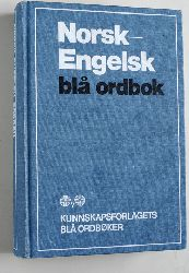 Kirkeby, Willy A.  Norsk - Engelsk bla ordbok. ved W. A. Kirkeby.