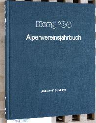 """Baumgartner, Peter (Red.).  Berg `86 - Alpenvereinsjahrbuch """"Zeitschrift"""" Band 110."""