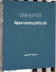 """Baumgartner, Peter (Red.).  Berg ` 88 - Alpenvereinsjahrbuch """"Zeitschrift"""" Band 112."""