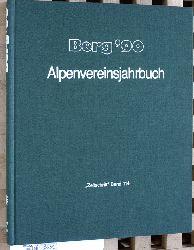"""Baumgartner, Peter (Red.).  Berg ` 90 - Alpenvereinsjahrbuch """"Zeitschrift"""" Band 114."""