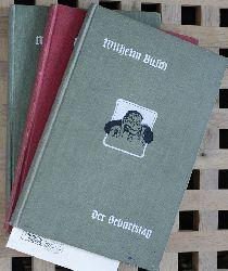 Busch, Wilhelm.  Der Geburtstag oder Die Partikularisten. Julchen. Herr und Frau Knopp. 3 Bücher.