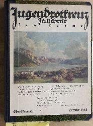 Jugendrotkreuz : das Magazin ; Zeitschrift des Deutschen Jugendrotkreuzes für Pädagogen, JRK-Führungskräfte u. JRK-Gruppenleiter. gebunden. 1922 - 1929. Hrsg.:Jugendrotkreuz der Österreichischen Gesellschaft vom Roten Kreuz.