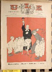 Engel, Fritz [Red.].  Ulk. Illustriertes Wochenblatt für Humor und Satire. Jahrgang 38/39.