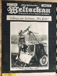 Illustrierte Weltschau : Wochenschrift im neuen Kupferdruckverfahren. 1915. 25 Hefte. Unter Mitarbeit führender Persönlichkeiten auf Literarischem und künstlerischem Gebiet.