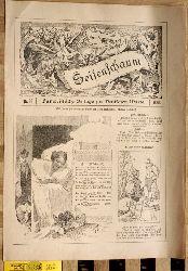 Seifenschaum Humoristische Beilage zur deutschen Warte. 1898. 25 Ausgaben.