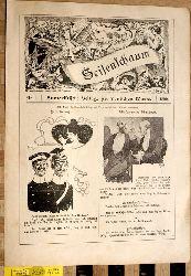 Seifenschaum Humoristische Beilage zur deutschen Warte. 1899. 34 Ausgaben.
