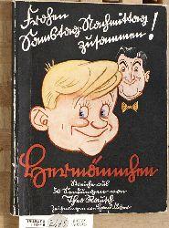Rausch, Theo.  Hermännchen. Streiche aus 50 Sendungen. Zeichnungen von Hans Füsser.
