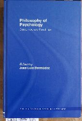 Bermudez, Jose Luis.  Philosophy of Psychology: Contemporary Readings Routledge Contemporary Readings in Philosophy