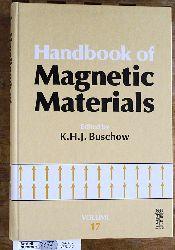 Buschow, Kurt H. Jürgen.  Handbook of Magnetic Materials: 17