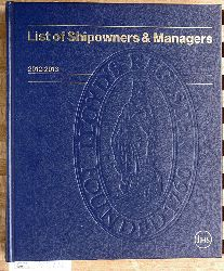 List of Shipowners & Managers 2012 - 2013 dpa Data Publishers Association