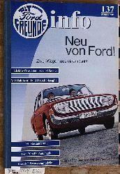 Alt-Ford Freunde Info Nr. 137 Sommer 2006 Neu von Ford! Zwei Wagen aus einem Guß. Alt-Ford-Freunde [Hrsg.]