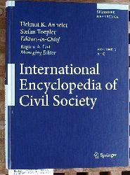 Anheier, Helmut K. and Stefan Toepler.  International Encyclopedia of Civil Society. Volume 1 A - C Band 1