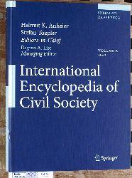 Anheier, Helmut K. and Stefan Toepler.  International Encyclopedia of Civil Society. Volume 2 D - O Band 2