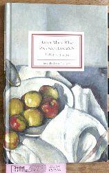 """Rilke, Rainer Maria und Rainer (Hrsg.) Stamm.  """"Im ersten Augenblick"""" : Bildbetrachtungen. Insel-Bücherei ; Nr. 1407"""