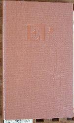 Jaccottet, Philippe. und Friedhelm [Übers.] Kemp.  Die Kormorane. Beauregard. Les Cormorans Beauregard. Deutsch von Friedhelm Kemp.