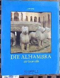Grécy, Jules und Ferdinand [Fotos] Werner.  Die Alhambra zu Granada.
