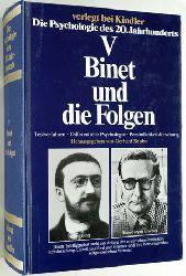 Strube, Gerhard.  Die Psychologie des 20. Jahrhunderts. Band 5. Binet und die Folgen. Testverfahren, differentielle Psychologie, Persönlichkeitsforschung.