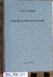 Bradke, Gisela v.  Das Werden im Drama Ernst Barlachs Inaugural-Dissertation zur Erlangung der Doktorwürde.... vorgelegt von Gisela v. Bradke aus Zschopau/Erzgebirge.