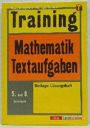 Bergmann, Hans & Teifke, Renate:   Training Mathematik. Textaufgaben.
