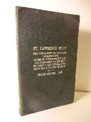Published byOrder of the Lords Commissionersof the Admiralty Crowen Copyright Reservet  The St. Lawrence Pilot