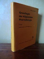 Scheler, Werner  Grundlagen der allgemeinen Pharmakologie