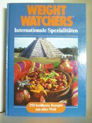 Adelheid Böhnke, Helga Roos und Gabriele Weckoop  Weight Watchers. Internationale Spezialitäten