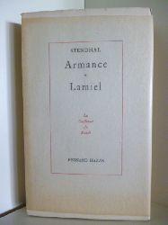 Stendhal  Armance, Lamiel (französischsprachig)