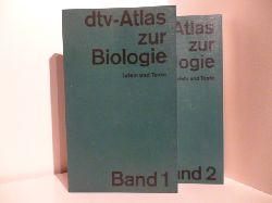 Günter Vogel und Hartmut Angermann  dtv-Atlas zur Biologie Band 1. und 2.