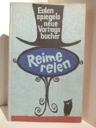Herausgegeben von Hansgeorg Stengel  Reimereien