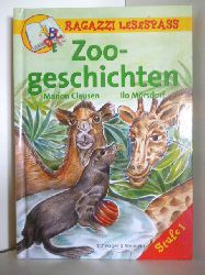 Clausen, Marion ; Mörsdorf, Ilo  Ragazzi Lesespass. Zoogeschichten. Stufe 1
