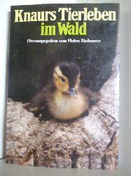 Ann und Myron Sutton - Sielmann, Heinz (Hrsg.)  Knaurs Tierleben im Wald