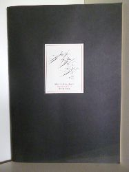 Schindehütte, Albert:  Albert Schindehütte. Zeichenheft 1 (signiert)